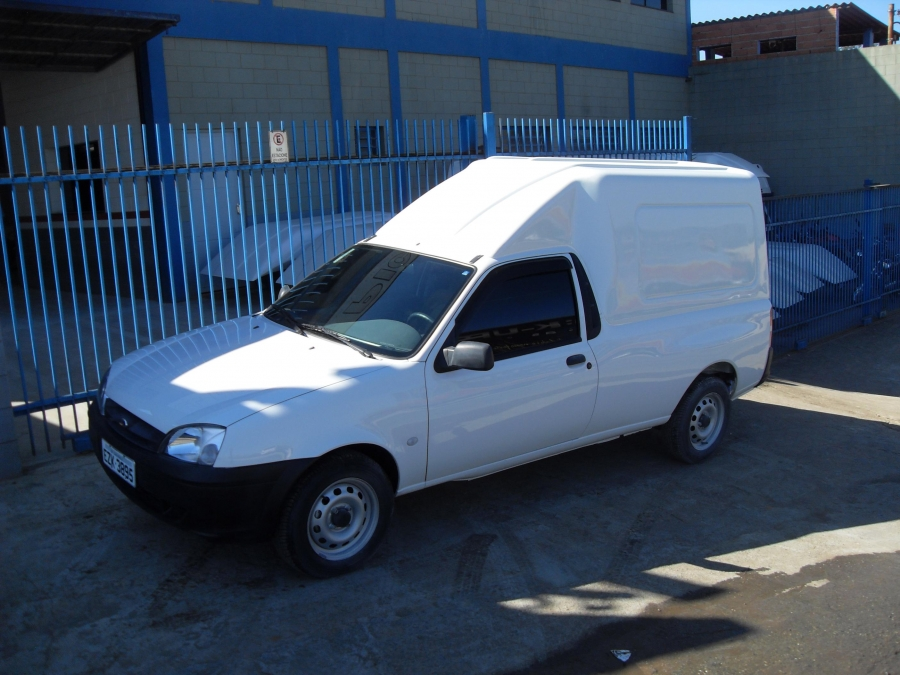 Courier Bau – Ford - All Pickup - Capotas de Fibra