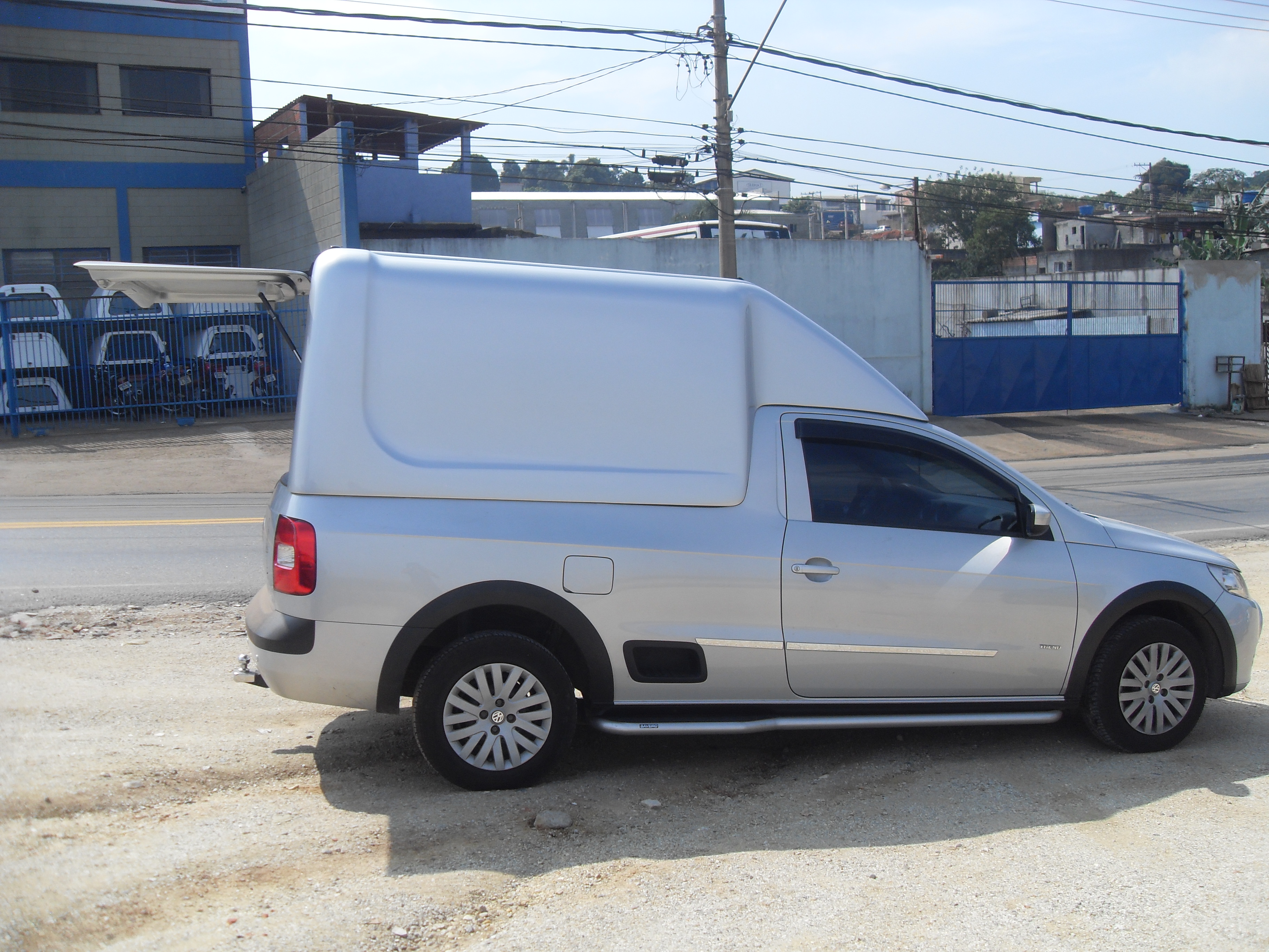 SAVEIRO GV BAU - All Pickup - Capotas de Fibra